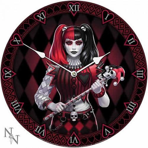 Nemesis Now James Ryman Dark Jester Clock