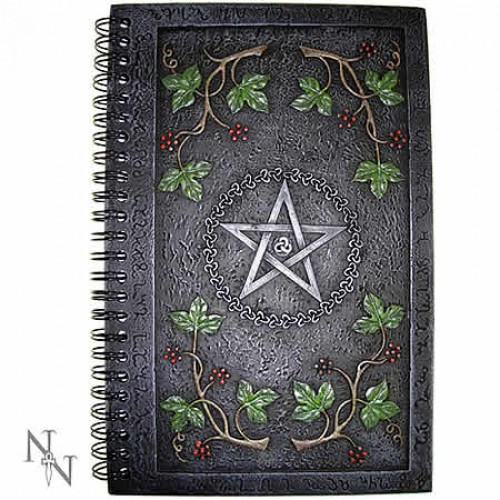 Nemesis Now Wiccan Book of Shadows Resin Journal