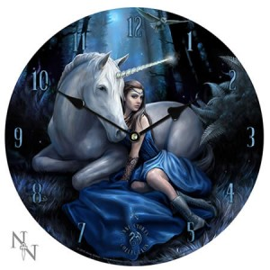 Nemesis Now Anne Stokes Blue Moon Clock