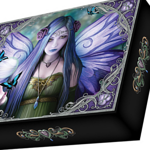 Nemesis Now Anne Stokes, Mystic Aura Jewellery Box