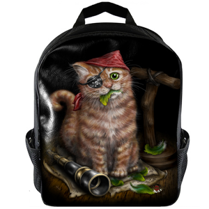 Linda M Jones, Pirate Kitten, Rucksack