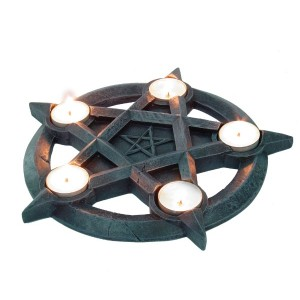 Nemesis Now Pentagram Tealights (Large)