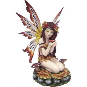 Nemesis Now Autumn Hawthorn fairy figurine