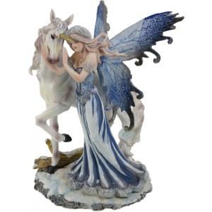 Nemesis Now Comfort Fairy & Unicorn Figurine