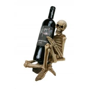 Nemesis Now One Too Many skeleton Wine Holder
