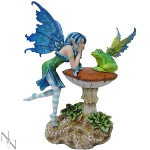 Nemesis Now Amy Brown Frog Gossip Fairy Figurine