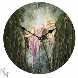 Nemesis Now Selina Fenech Rockabye Glass Clock