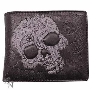 Nemesis Now Abstract Skull Men's Wallet