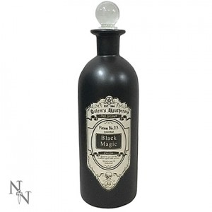 Nemesis Now Alchemist Black Magic Potion