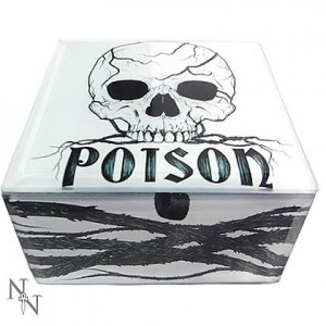 Nemesis Now Alchemist Poison Glass Box