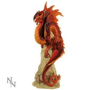 Nemesis Now Andrew Bill Ruby Sentinel Dragon