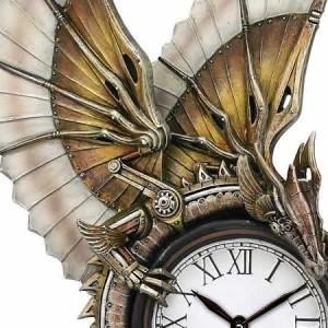 Nemesis Now Anne Stokes Clockwork Dragon Wall Clock