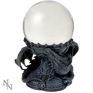 Nemesis Now Anne Stokes Dragon Beauty Crystal Ball Holder