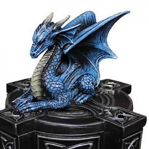 Nemesis Now Anne Stokes Dragon Duo Draco Custos