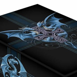 Nemesis Now Anne Stokes Dragon Duo Tarot Box