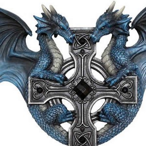 Nemesis Now Anne Stokes Dragon Duo Wall Plaque