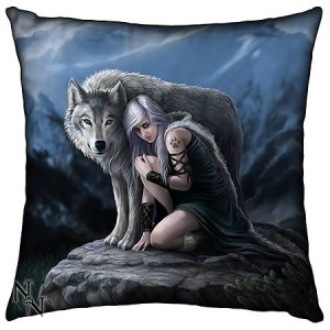 Nemesis Now Anne Stokes Protector Cushion 42cm
