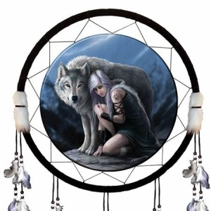 Nemesis Now Anne Stokes Protector Dream Catcher