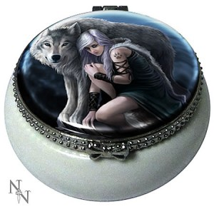 Nemesis Now Anne Stokes Protector Trinket Box