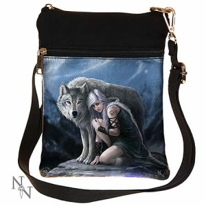Nemesis Now Anne Stokes Protector Shoulder Bag
