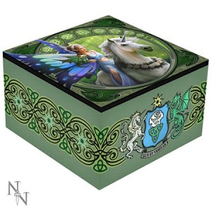 Nemesis Now Anne Stokes Realm of Enchantment Mirror Box