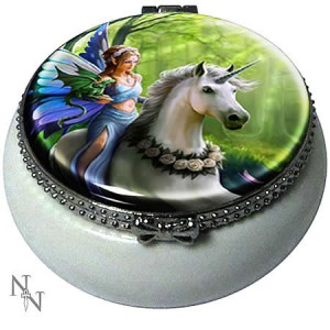 Nemesis Now Anne Stokes Realm of Enchantment Trinket Box