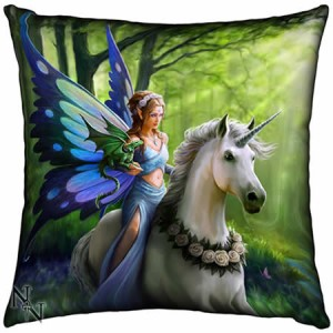 Nemesis Now Anne Stokes Realm of Enchantment 42cm Cushion