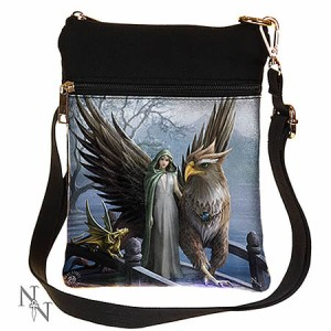 Nemesis Now Anne Stokes Realm of Tranquillity Shoulder Bag