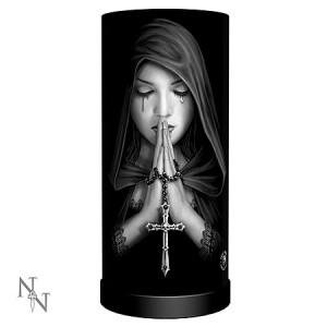 Nemesis Now Anne Stokes Gothic Prayer Lamp
