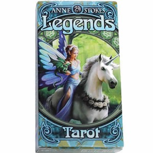 Nemesis Now Anne Stokes Legends Tarot Cards