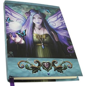 Nemesis Now Anne Stokes Mystic Aura Embossed Journal