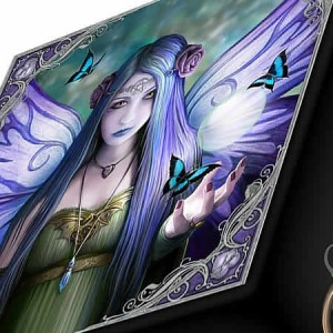 Nemesis Now Anne Stokes Mystic Aura Mirror Box