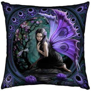 Nemesis Now Anne Stokes Naiad Fairy 42cm Cushion