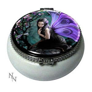 Nemesis Now Anne Stokes Naiad Fairy Trinket Box