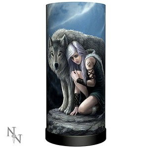 Nemesis Now Anne Stokes Protector Lamp
