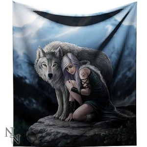 Nemesis Now Anne Stokes Protector Throw