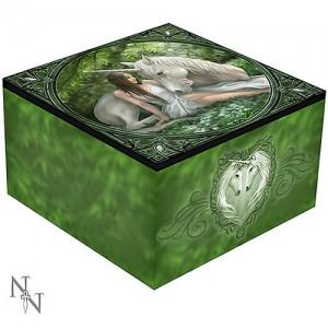 Nemesis Now Anne Stokes Pure Heart Mirror Trinket Box