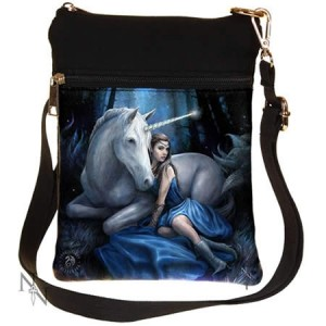 Nemesis Now Anne Stokes Blue Moon Shoulder Bag