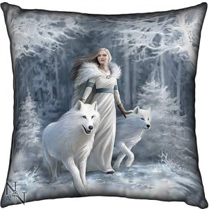 Nemesis Now Anne Stokes Winter Guardians 42cm Cushion