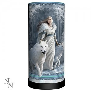 Nemesis Now Anne Stokes Winter Guardians Lamp
