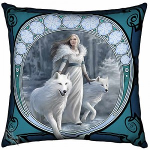 Nemesis Now Anne Stokes Winter Guardians Large Cushion