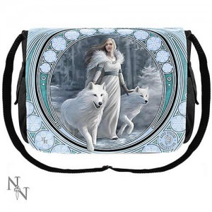 Nemesis Now Anne Stokes Winter Guardians Messenger Bag