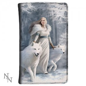 Nemesis Now Anne Stokes Winter Guardians Purse
