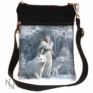 Nemesis Now Anne Stokes Winter Guardians Shoulder Bag