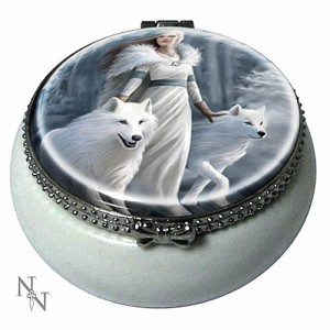 Nemesis Now Anne Stokes Winter Guardians Trinket Box