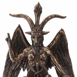 Nemesis Now Baphomet Medium Bronzed Figurine