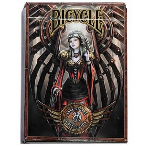 Nemesis Now Bicycle Anne Stokes Steampunk Playing Cards