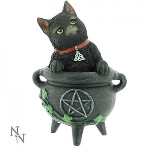 Nemesis Now Cats of Coven Figurines Smudge