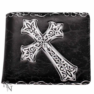 Nemesis Now Celtic Cross Men's Wallet
