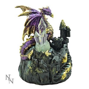 Nemesis Now Crystal Keeper Dragon Tower Figurine